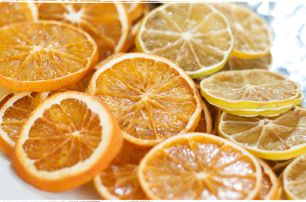 Sliced And Dried Oranges